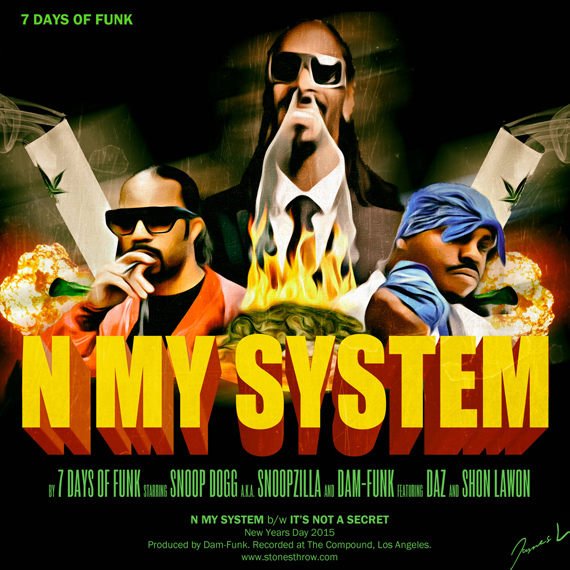[AUDIO] [FREE DOWNLOAD] 7 Days Of Funk (Snoop Dog & Dam-Funk) – N My System