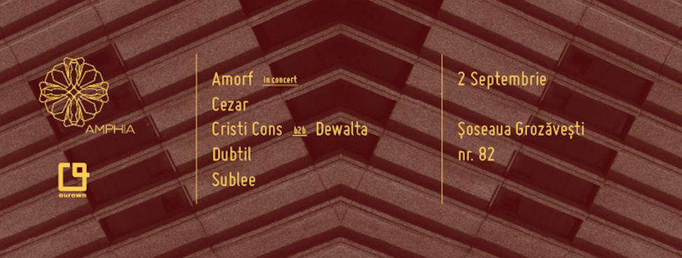 AVEM CÂȘTIGĂTOR: Câștigă 2 invitații la Amorf In Concert + EP-ul Dubtil – Etape!