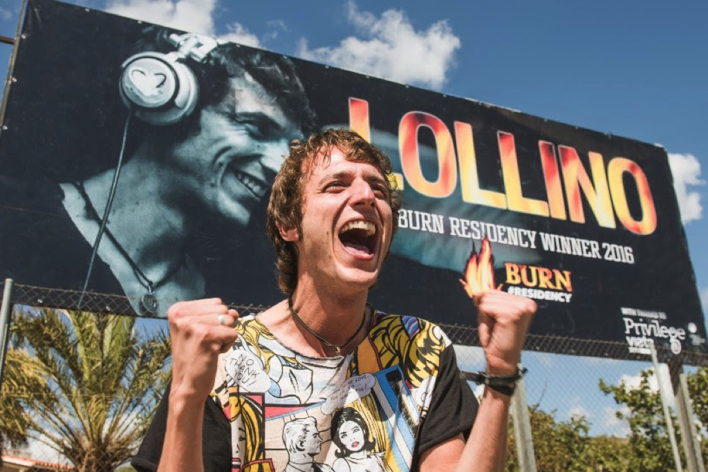 Who Is Lollino And How He Walked Out Of The Burn Residency Contest With 100K Euros Pumped Into His DJ Career