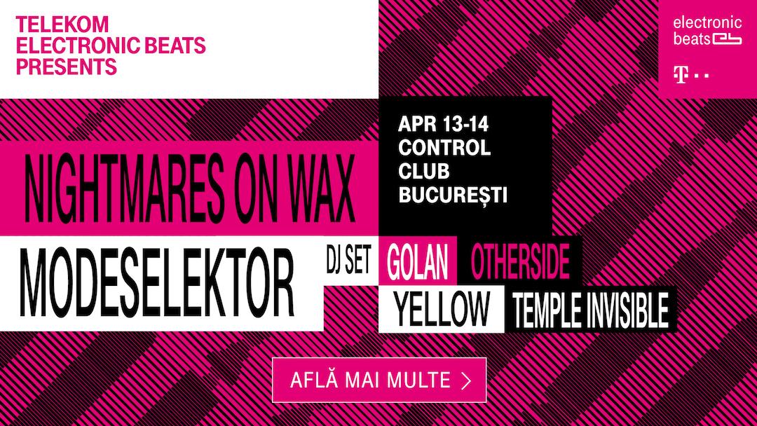 Telekom Electronic Beats ajunge pe scena muzicii din România!